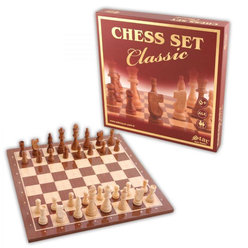 Chess Set Classic Büyük