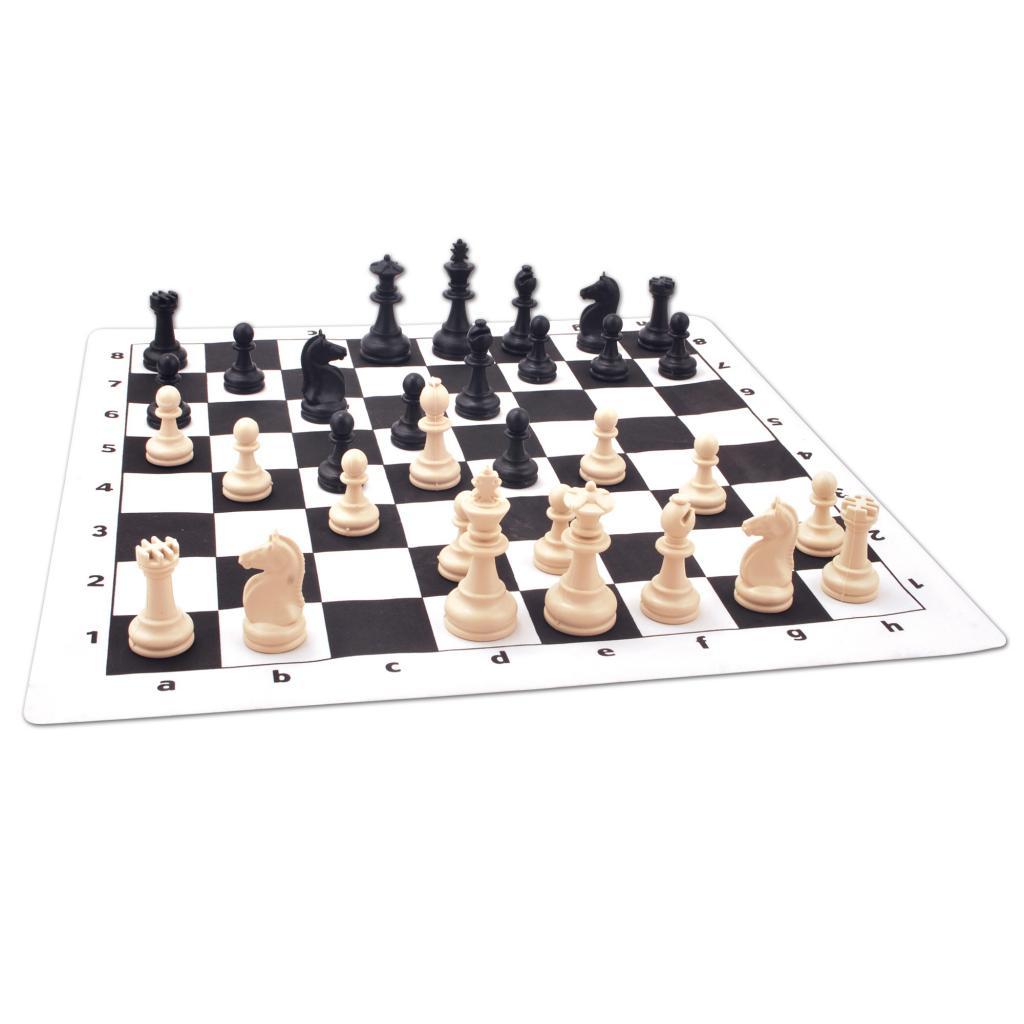 Satranç Dünyası Rulo Satranç Büyük Boy Kırmızı Satranç Dünyası